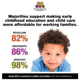 2016 National Poll: Majorities Support Making ECE More Affordable for Working Families