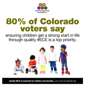 2016 Colorado Poll: 80% of Voters Say We Should Ensure Children Have a Strong Start in Life Through Early Education