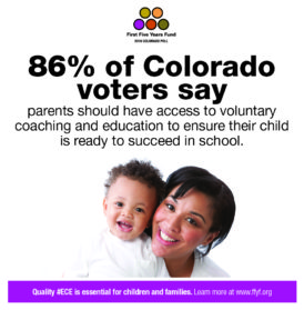 2016 Colorado Poll: Voters Say New Parents Should Have Access to Voluntary Coaching and Education Programs