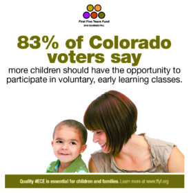 2016 Colorado Poll: Voters Say More Children Should Have the Chance to Participate in Voluntary, Early Learning Classes