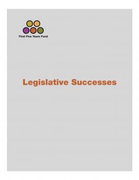 Legislative Successes on Early Childhood Education