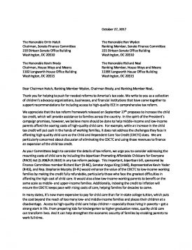 PACE Act Support Letter